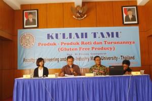 Kuliah Tamu Fakultas Pertanian: Gluten Free Product